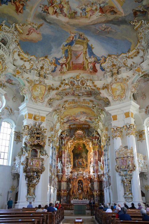 interieur Wieskirche Duitsland