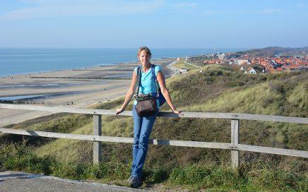 wandelen Zoutelande uitzicht vanaf de duinen