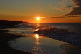 zonsondergang strand Zeeland