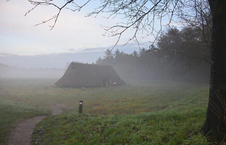 ijzertijdboerderij bij Wekerom Geldersch Landschap