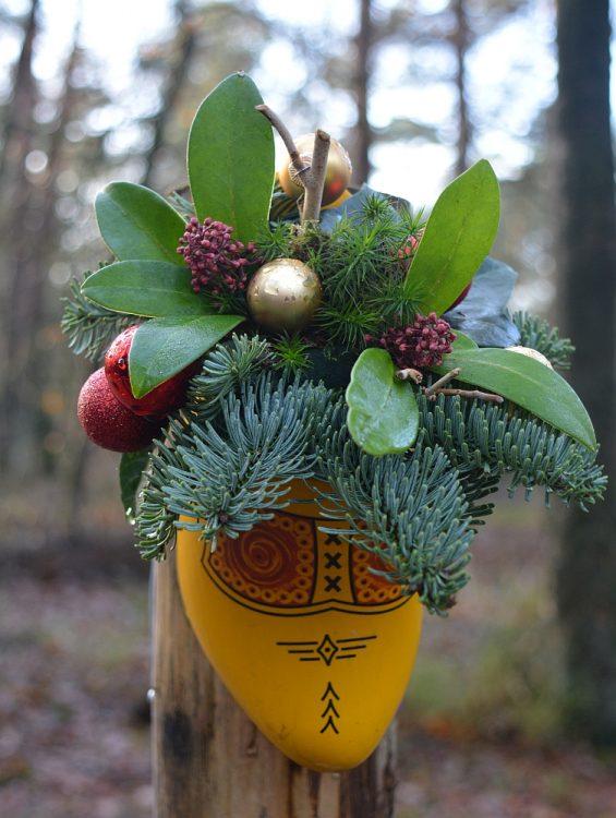 klompenpad in kerstsfeer