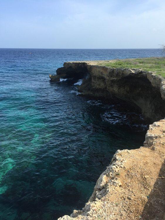 wandelen rotskust Watamula Curacao