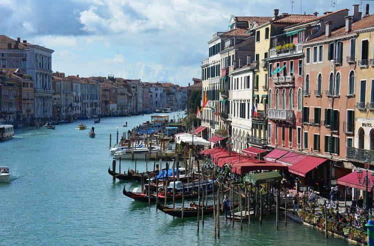 Grand canal Venetië