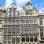 Gevels aan de Grote Markt Brussel