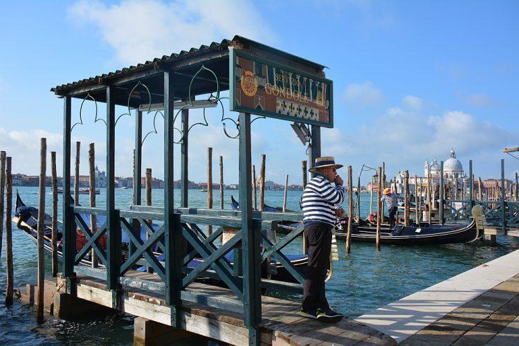 gondel bij San Marco plein 1 dag in Venetië