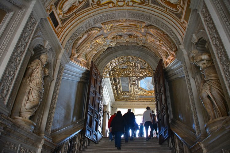 interieur Dogenpaleis Palazzo ducale Venetië