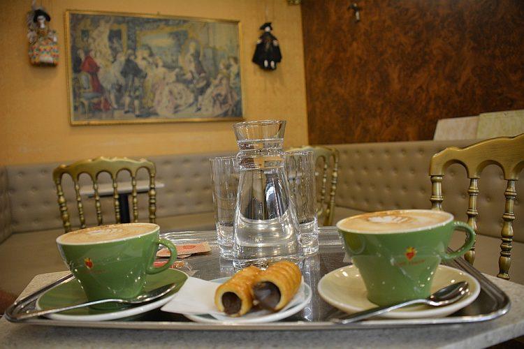 koffie met cannelloni 1 dag in Venetië
