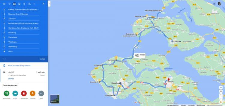 roadtrip met de camper door Zeeland