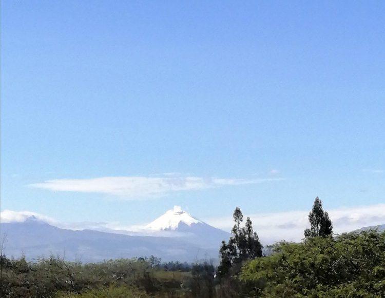De indrukwekkende Cotopaxi vulkaan in Ecuador