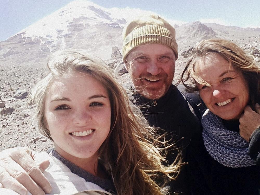 Wendy en haar gezin wonen in Ecuador