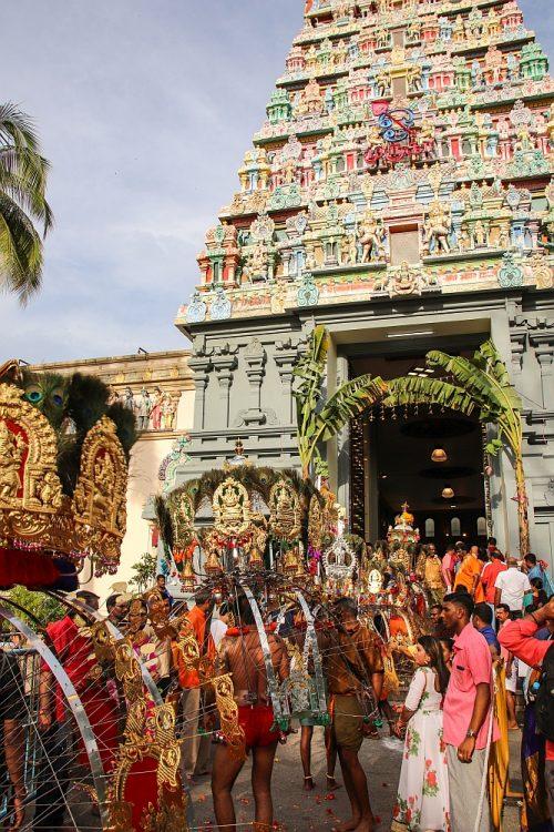 Hindoeïstische tempel Singapore