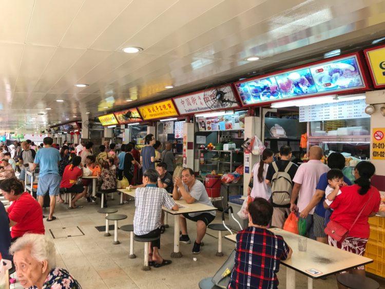 Redhill Market emigreren naar Singapore