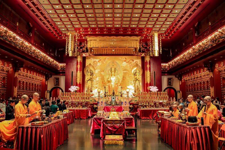 de rode tempel Singapore