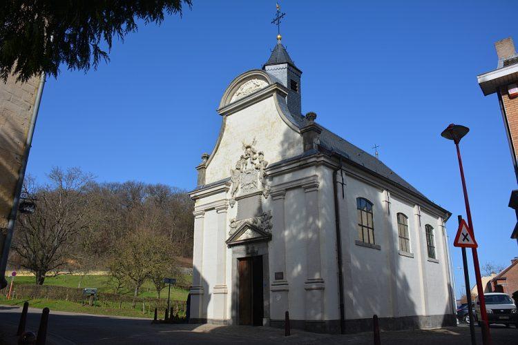 kerkje in Kanne, Belgisch Limburg