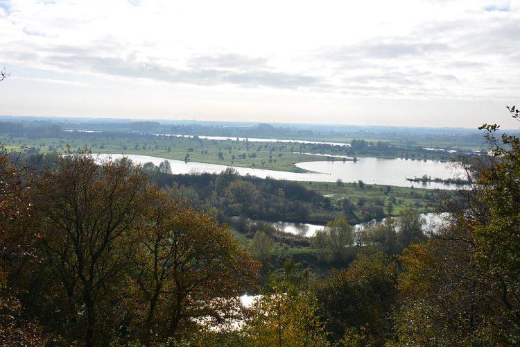 uitzicht Blauwe Kamer vanaf Grebbeberg