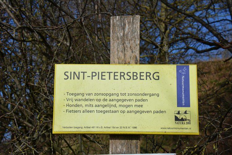wandelbord Sint-Pietersberg