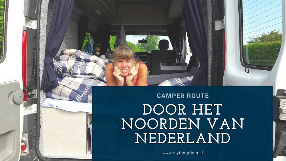 camperroute door het noorden van Nederland Myfootprints