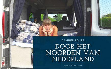camper route door het noorden van Nederland blog reisdagboek