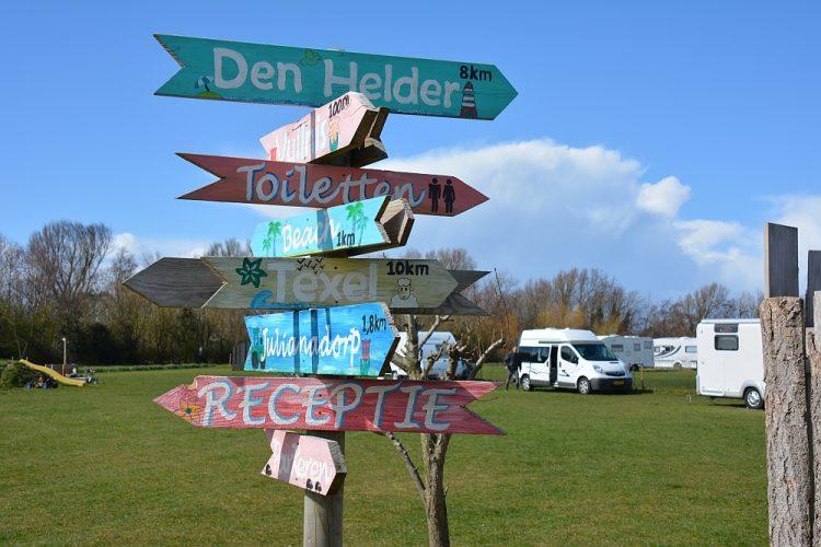 camping Julianadorp Aan Zee camperroute noorden van Nederland