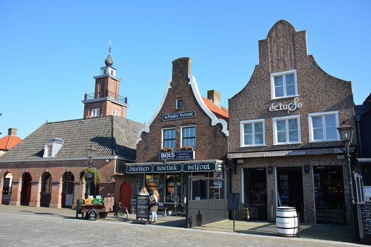 centrum Sluis Zeeuws-Vlaanderen
