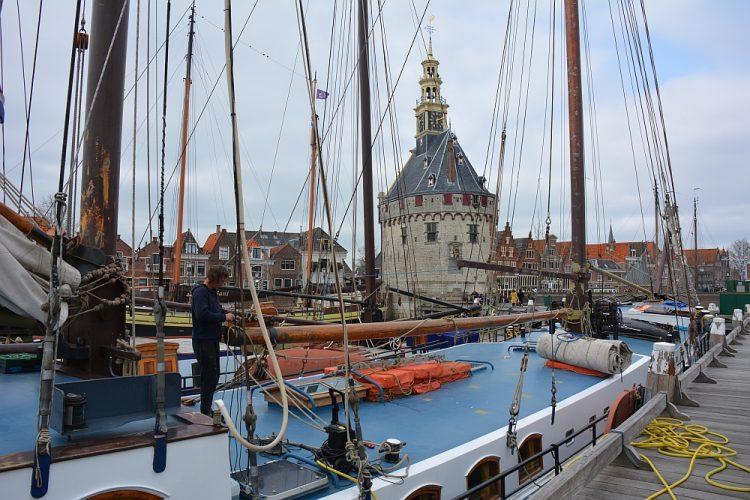 historische schepen haven Hoorn