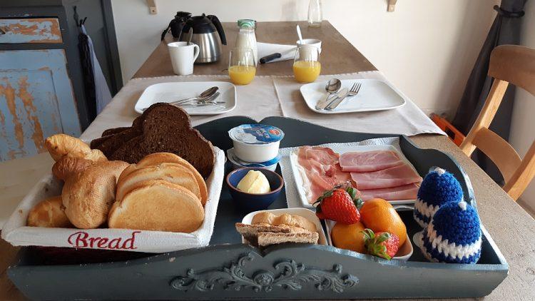 ontbijt B&B Beukenhof Molenschot