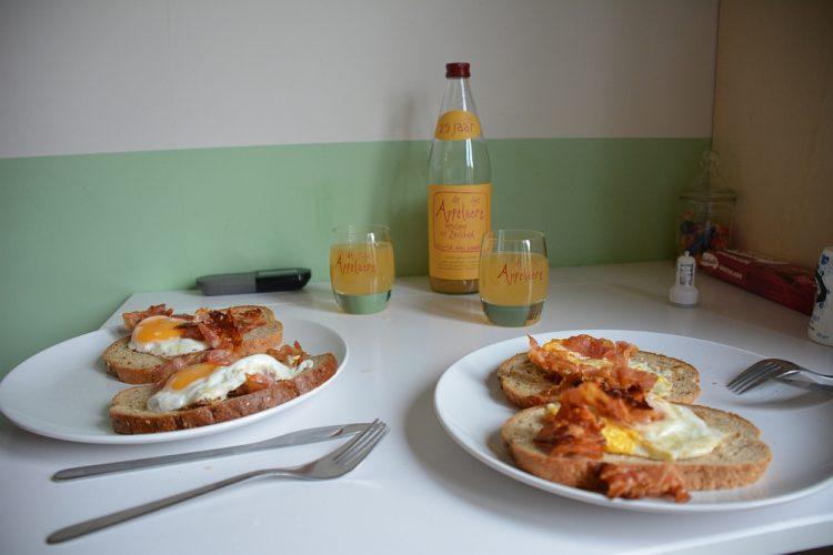 ontbijten tiny house Groede