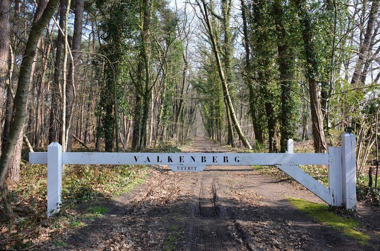 wandelroute Chaam landgoed Valkenberg