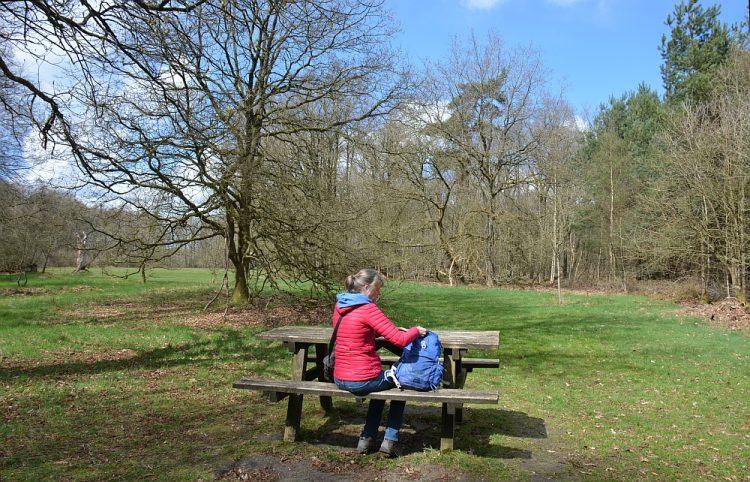 picknickbankje Landgoed de Slotplaats