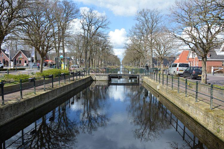 sluis in Bakkeveen Friesland