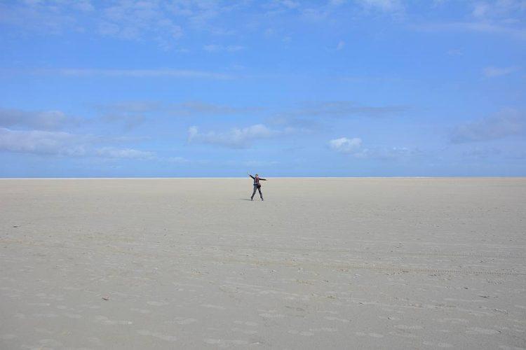 De breedste stranden van Nederland op Schiermonnikoog