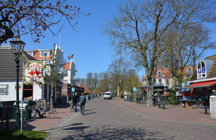 Hoofdstraat Schiermonnikoog dorp