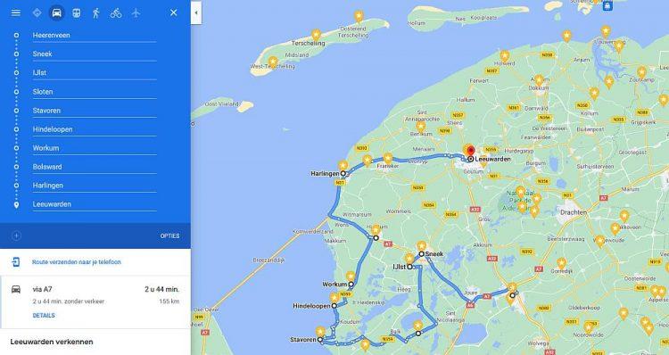 Rondje Friesland langs de Friese Elsteden