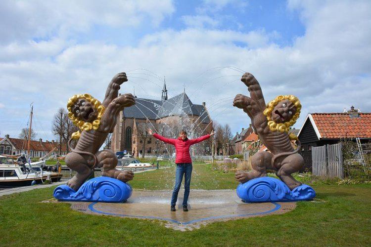 leeuwen fontein van Workum