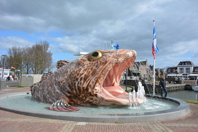 fontein van Stavoren Friesland
