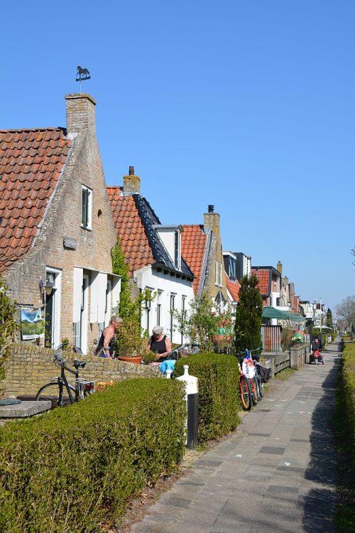mooie panden in Schiermonnikoog