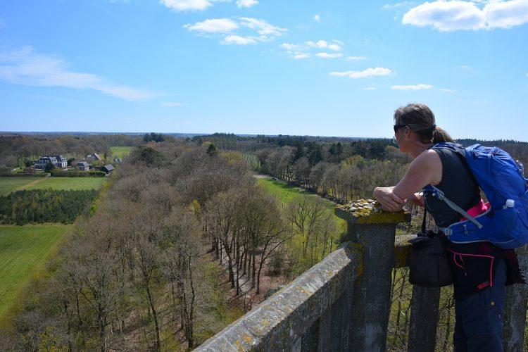 uitzicht vanaf Uitkijktoren Belvedère
