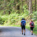 wandelen met Nordic Walking stokken Duitsland