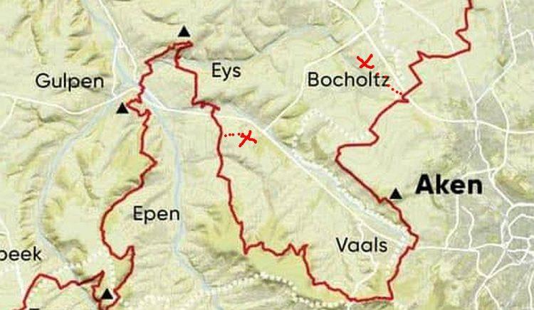Dutch Mountain Trail etappe 2 Bocholtz Vijlen inclusief overnachten