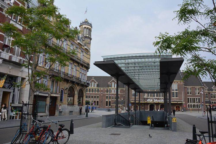 eindpunt Dutch Mountain Trail centraal station Maastricht