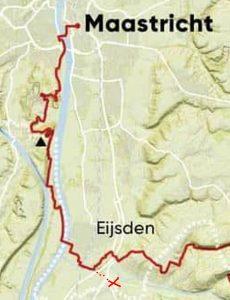 Dutch Mountain Trail etappe 5 routekaart