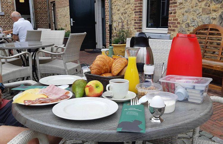 ontbijt Auberge de Smockelaer Heijenrath