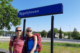 startpunt Dutch Mountain Trail op station Eygelshoven