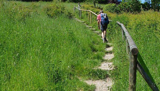 trap naar de Gulperberg