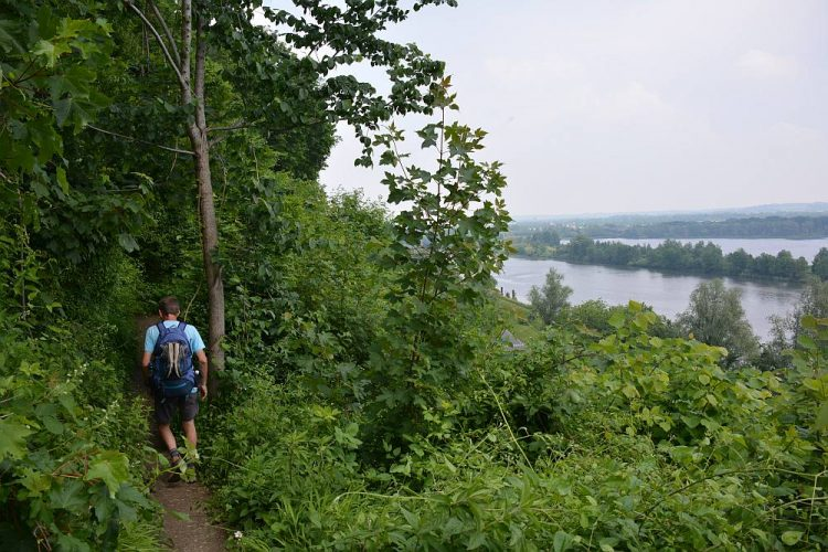 uitzicht op de Dutch Mountain Trail etappe 5