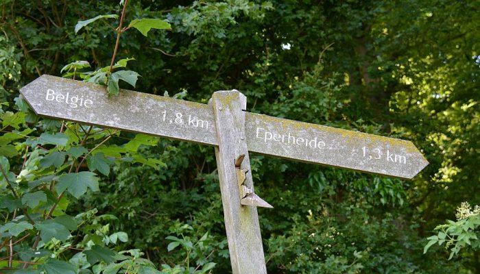 wandelbordje Dutch Mountain Trail