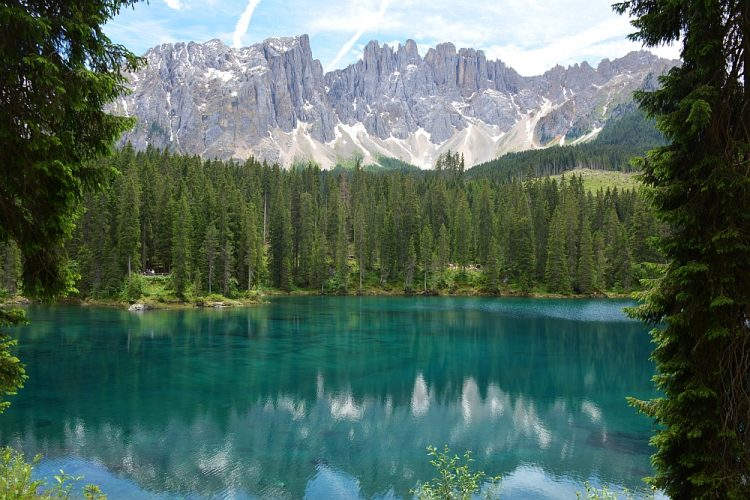 Karersee Lago di Carezza Noord Italië
