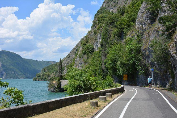 Roadtrip Noord Italië fietsen bij het Lago dÍseo