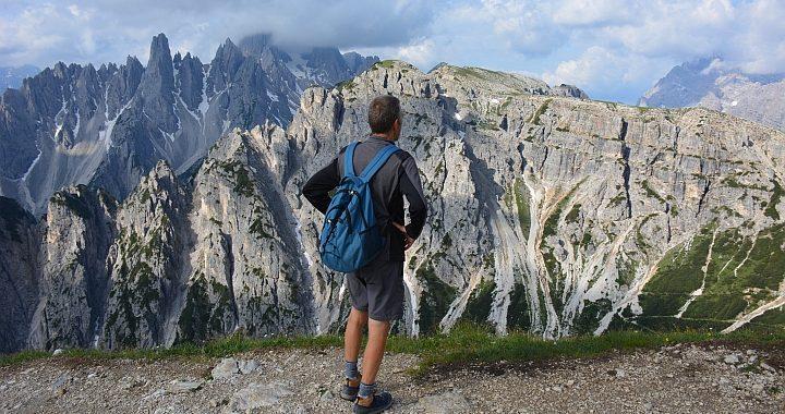 Wandelen bij de Dre Zinnen in de Dolomieten