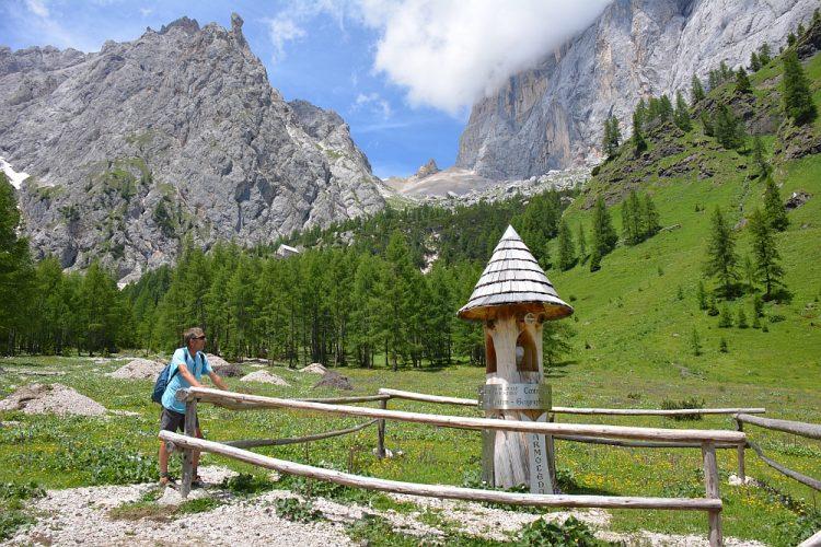 Roadtrip Noord Italië officieel middelpunt van de Dolomieten